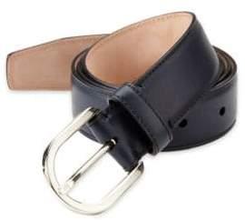 Bally Leather Dress Belt