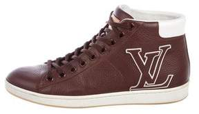 Louis Vuitton Initiales Leather Sneakers