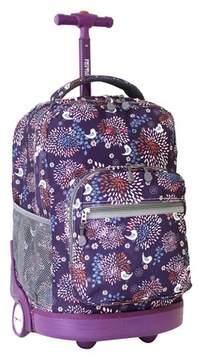J World JWorld 18 Sunrise Rolling Backpack