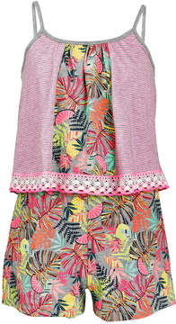Epic Threads Big Girls Popover-Bodice Romper, Created for Macy's