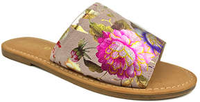 Bamboo Neutral Floral Maintain Slide - Women