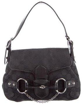 Gucci Small Horsebit Chain Bag - BLACK - STYLE