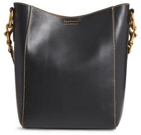 Frye Harness Leather Bucket Bag - Black