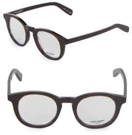 Saint Laurent 48MM Round Optical Glasses
