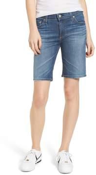 AG Jeans 'Nikki' Distressed Denim Bermuda Shorts