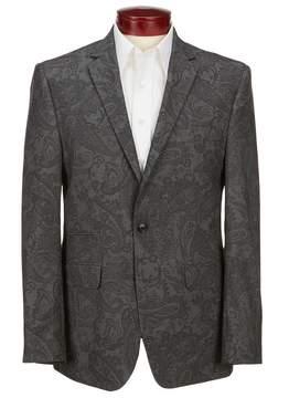 Murano Slim-Fit Printed Paisley Blazer