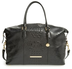 Brahmin 'Duxbury' Leather Travel Bag - Black