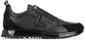 Fendi embossed lightning bolt sneakers