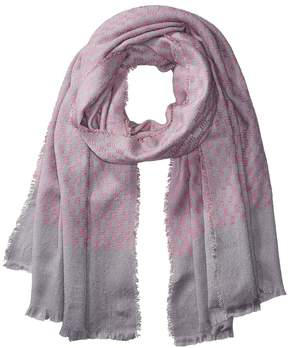 Bindya Check Print Scarf Scarves