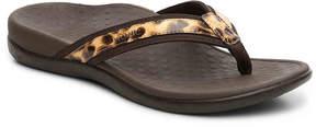 Vionic Women's Tide II Leopard Flip Flop