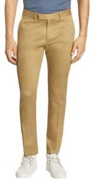 Ralph Lauren Purple Label Eaton Slim-Fit Stretch Cotton Twill Pants