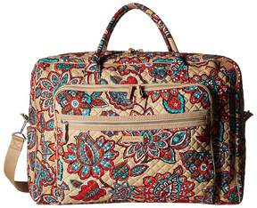Vera Bradley Iconic Grand Weekender Travel Bag Weekender/Overnight Luggage - DESERT FLORAL - STYLE