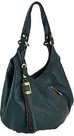 As IsorYANY Italian Grain Leather Hobo - Medium Tracy