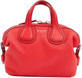 Givenchy Nightingale Red Leather Handbag
