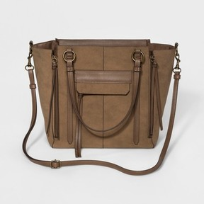 Mossimo Supply Co. Women's Soft Satchel with Crossbody Strap - Mossimo Supply Co.