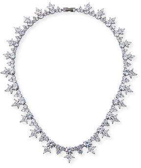 Fallon Monarch Pointed Cluster Choker Necklace