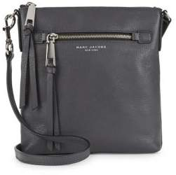 Marc Jacobs Pebbled Leather Crossbody - SHADOW - STYLE