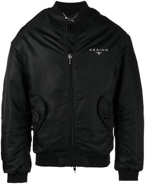 Balenciaga Embroidered Kering bomber jacket