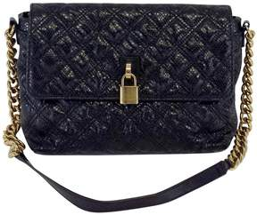 Marc Jacobs Black Textured Quilted Leather Bag - BLACK - STYLE