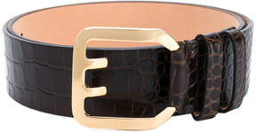 DSQUARED2 crocodile-embossed belt