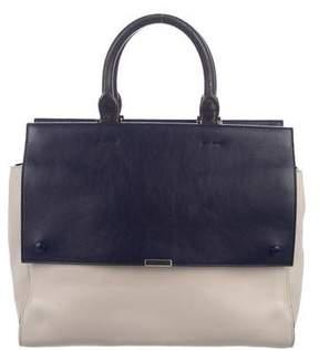 Victoria Beckham Colorblock Leather Satchel