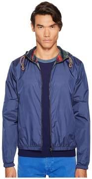 Missoni Mare Dyed Nylon Reversible Parka Men's Coat