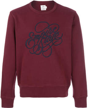 Closed embroidered logo jumper