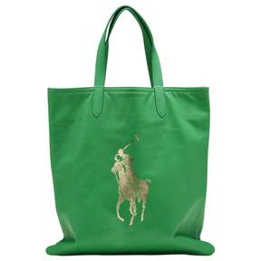 Polo Ralph Lauren Leather Shopping Bag