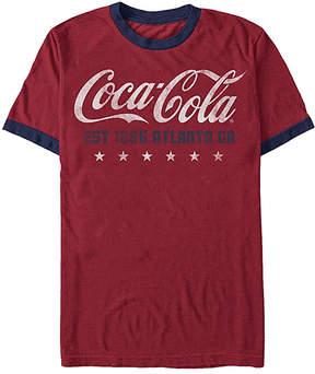 Fifth Sun Red & Navy Coca-Cola 'Est. 1886' Tee - Men