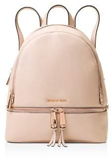 MICHAEL Michael Kors Michael Kors Rhea Medium Zip Leather Backpack