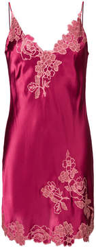 Carine Gilson lace detail chemise