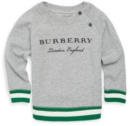 Burberry Baby's & Toddler's Logo Cotton Sweater