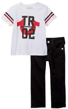 True Religion TR 02 Tee Pants Set (Toddler Boys)