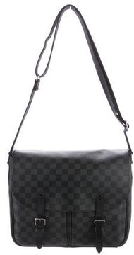 Louis Vuitton 2015 Damier Graphite Christopher Bag