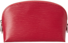 Louis Vuitton Fuchsia Epi Leather Cosmetic Pouch