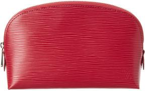 Louis Vuitton Fuchsia Epi Leather Cosmetic Pouch