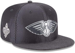 New Era New Orleans Pelicans On-Court Graphite Collection 9FIFTY Snapback Cap