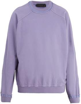 Haider Ackermann Raw-edge cotton-jersey sweater