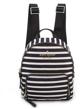 Kate Spade Watson Lane Mini Hartley Striped Backpack