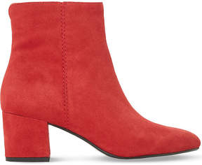 Dune Ladies Red Olyvea Suede Ankle Boots