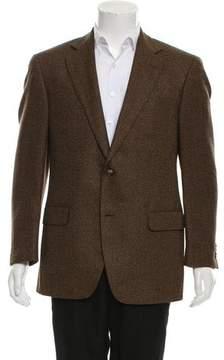 Luigi Bianchi Mantova Virgin Wool & Silk-Blend Blazer