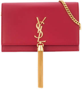 Saint Laurent Kate tassel shoulder bag - RED - STYLE