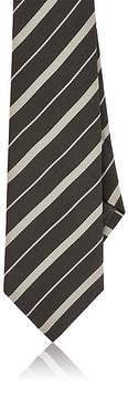 Brunello Cucinelli Men's Striped Silk Faille Necktie