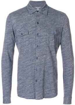 Majestic Filatures chest pockets shirt