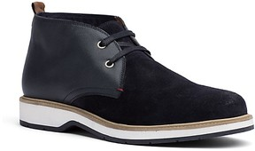 Tommy Hilfiger Final Sale-Suede Mix Desert Boot