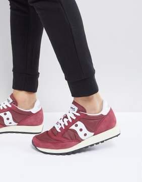Saucony Jazz Original Sneakers In Red S70368-11