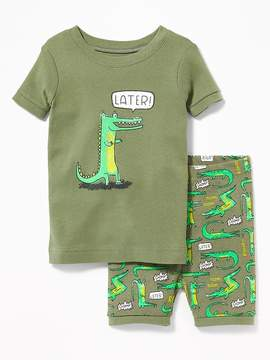 Old Navy Later! Gator Sleep Set for Toddler & Baby