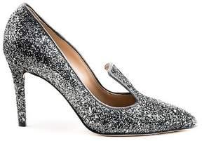 Formentini Perla Nivea Glitter Loafer Pump