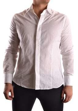 Gazzarrini Men's White Cotton Shirt.