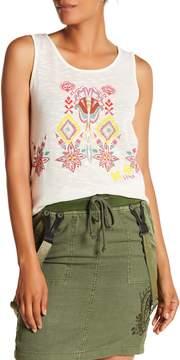 Desigual Leisa Hi-Lo Graphic Shirt